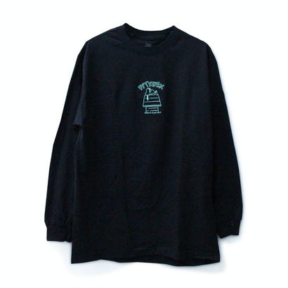 PITY SEX DROOPCITY LS TEE BLACK x GREEN