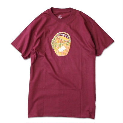 Create Skateboards  Peaches T (Burgundy)