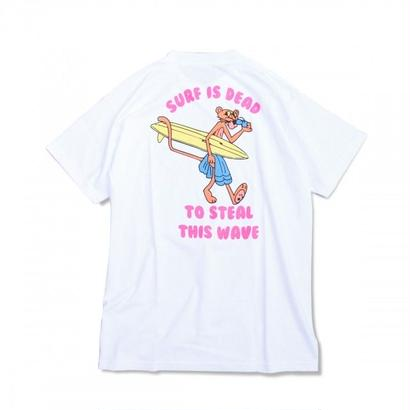 SURF IS DEAD PANTERA TEE <White> サーフイズデッド