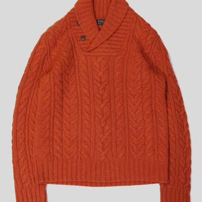 Polo Ralph Lauren Shawl collar Sweater ポロ ラルフローレン ショールカラーセーター