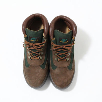 "Timberland Field Boots Dark Brown&Green ""Beef & Broccoli"""