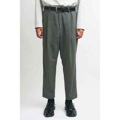 MAINTENANT TOKYO / NEW ONE TUCK PANTS (MT-118801) COL:GRAY