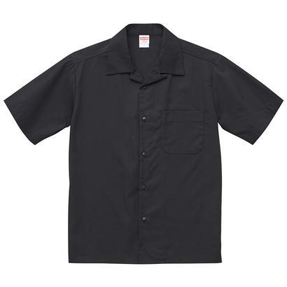 United Athle  T/Cオープンカラーシャツ ブラック
