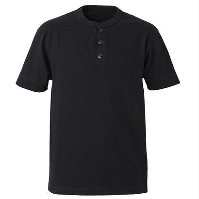 United Athle ヘンリーネックTシャツ ブラック