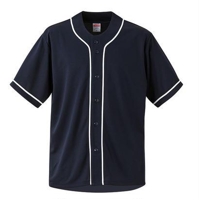 United Athle ベースボールシャツ ネイビー/ホワイト