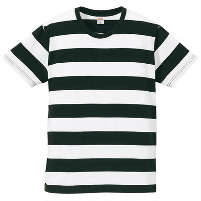 United Athle ボーダーTシャツ ブラック/ホワイト