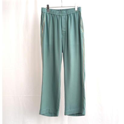 URU TOKYO / PIPING PANTS COL:A.GREEN