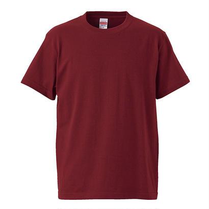 United Athle ベーシックTシャツ バーガンディ