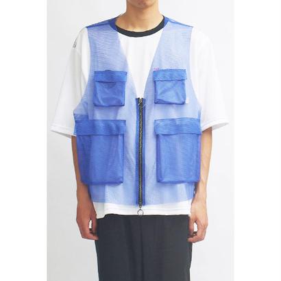 MAINTENANT TOKYO / REFLECTION VEST (MT-818801) COL:BLUE