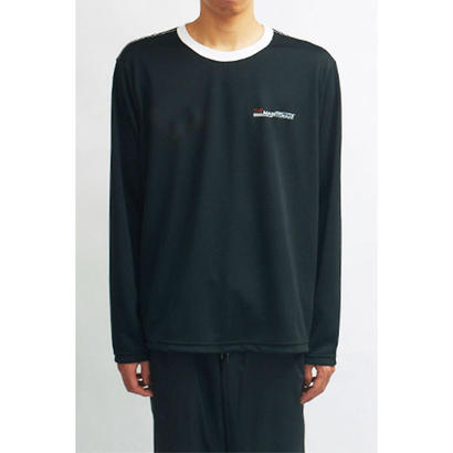 MAINTENANT TOKYO / NEW UNIFORM LONG SLEEVE SHIRT (MT-318802) COL: BLACK