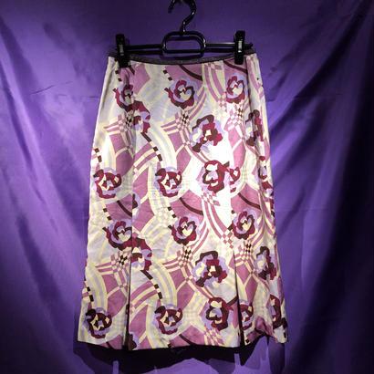 【Used】パープルローズスカート