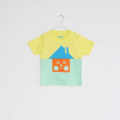 KIDS / tupera tupera ×STORE 家 T -シャツ  / 柄・ベーシックハウス・ col・レモン×メロン