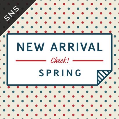 SNS素材|2サイズセット 春の新作 [A-02]