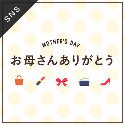 SNS素材|2サイズセット 母の日 [ A-02 ]