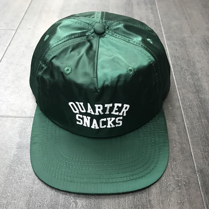 QUARTERSNACKS ARCH CAP GREEN NYLON