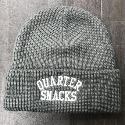 QUARTERSNACKS ARCH BEANIE GRAY