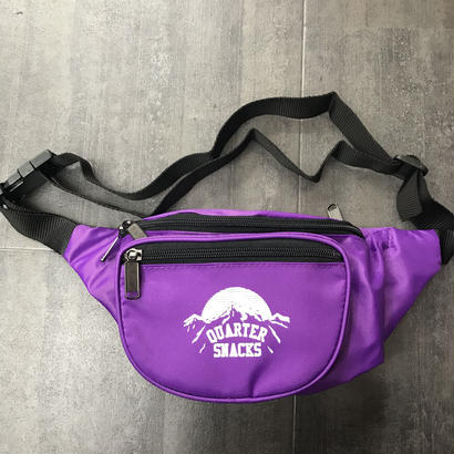 QUARTERSNACKS PARTY SATCHEL PURPLE