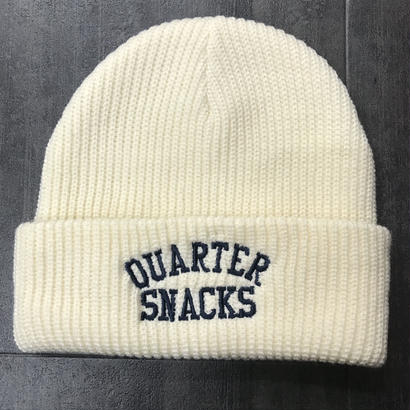 QUARTERSNACKS ARCH BEANIE NATURAL