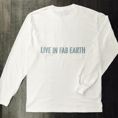 L.I.F.E PFKB L/S TEE WHITE