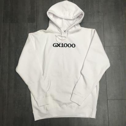 GX1000 OG LOGO HOODIE WHITE