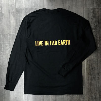 L.I.F.E PFKB L/S TEE BLACK