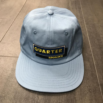 QUARTERSNACKS CAFE CAP CAROLINA BLUE