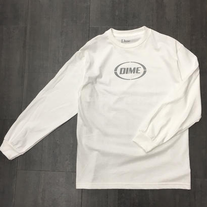 DIME FAST LONG SLEEVE SHIRTS WHITE