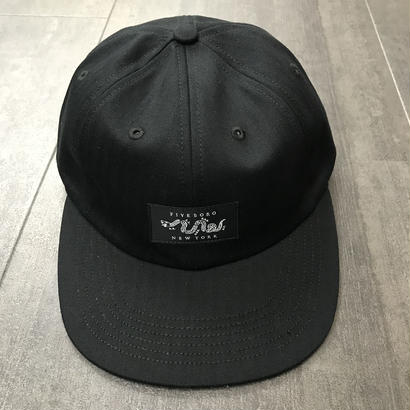 5BORO SIX PANEL JOIN OR DIE BLACK/BLACK