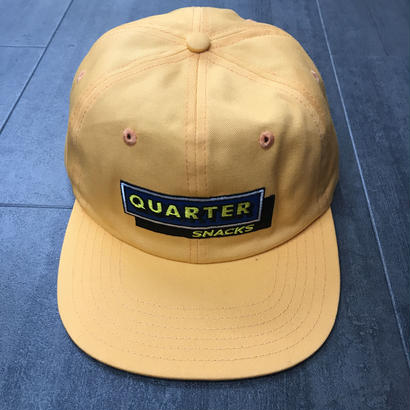 QUARTERSNACKS CAFE CAP PEACH
