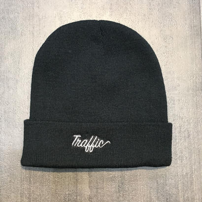TRAFFIC BEANIE BLACK
