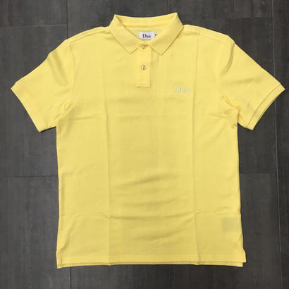 DIME POLO SHIRTS LIGHT YELLOW