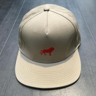 HOPPS LION 6 PANEL CAP KHAKI