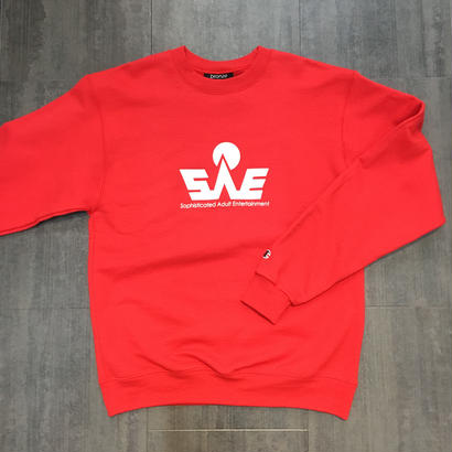 BRONZE SAE CREWNECK RED