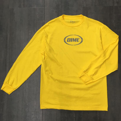 DIME FAST LONG SLEEVE SHIRTS YELLOW