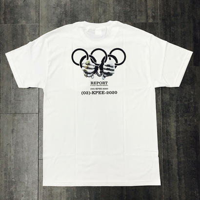 KP TOKYO OLYMPIC TEE WHITE
