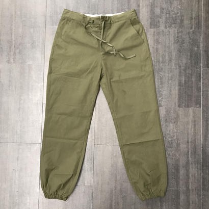 CHRYSTIE JOGGER PANTS MILITARY-GREEN