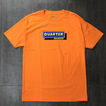 QUARTERSNACKS CAFE TEE ORANGE