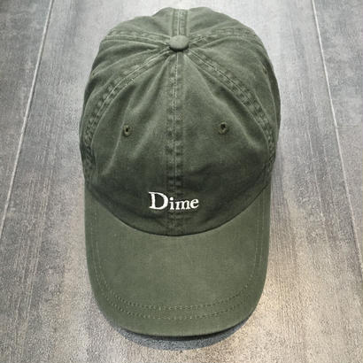 DIME 6 PANEL HAT WASHED GREEN