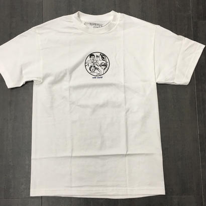 LURK NYC  COLD WORLD TEE WHITE
