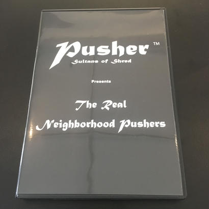 "PUSHER WHEELS ""THE REAL NEIGHBORHOOD PUSHERS"" DVD"