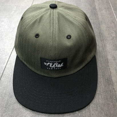 5BORO SIX PANEL JOIN OR DIE ARMY GREEN/BLACK