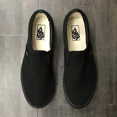VANS CLASSIC SLIP ON BLACK/BLACK