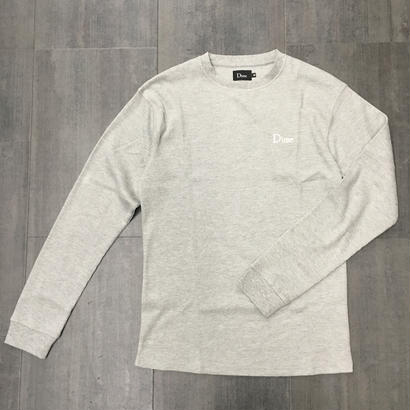 DIME THERMAL SHIRTS HEATHER GRAY