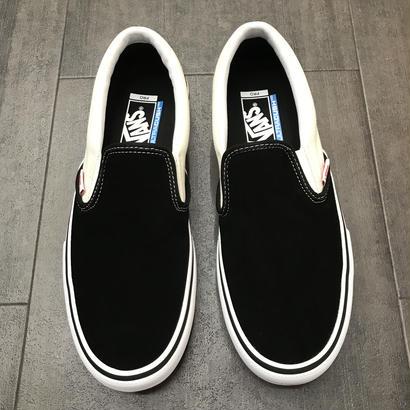 VANS SLIP-ON PRO BLACK/WHITE/WHITE