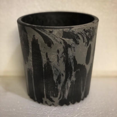 W name Marble plastic Pot(Limited color) 2