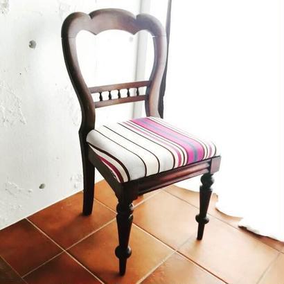 ハートの椅子 ~1930's 英国アンティーク オークチェア~