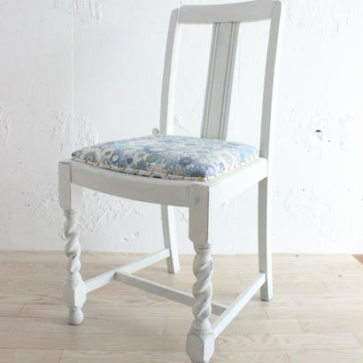 リバティヒマワリ柄の椅子 スモールスザンナ ''1950's 英国フレーム   オーク''