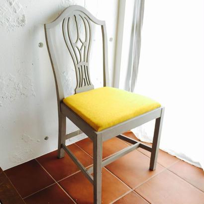 レモンの椅子 ~1950's 英国アンティーク オークチェア~