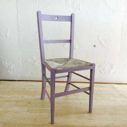 小さなハートの椅子 ~1950's 英国アンティーク オークチェア~ ディスプレイ用