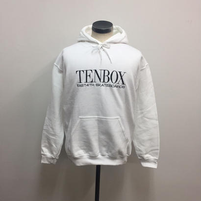 TENBOX×EAST4TH HOODED SWEAT WHITE
